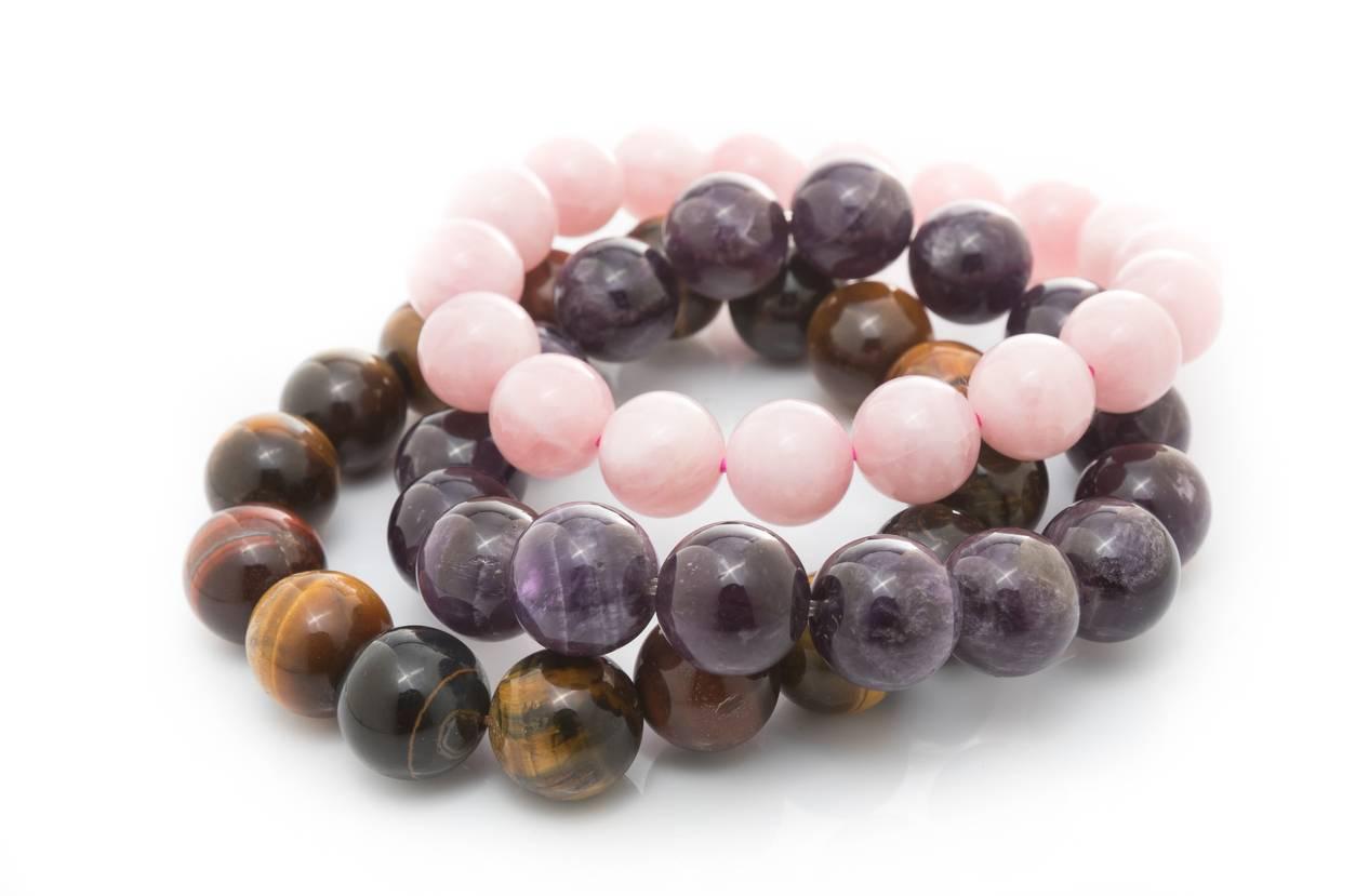 Bracelet de minéraux